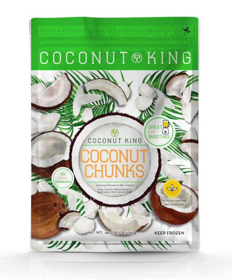 Coconut Chunks Front